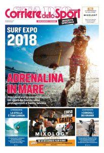 Copertina di Surf Expo 2018 - Speciale del Corriere dello Sport