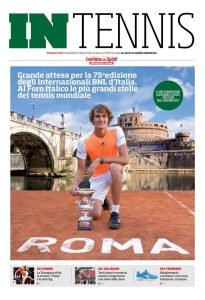 Copertina In Tennis - Corriere dello Sport